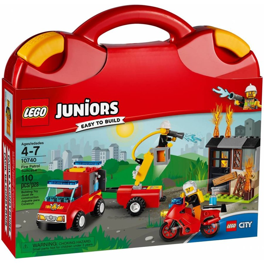 10740 Juniors Brandweerkoffer