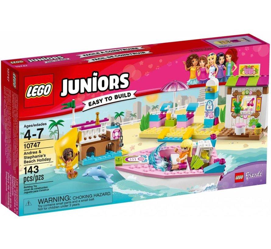 10747 Juniors Andrea en Stephanies strandvakantie