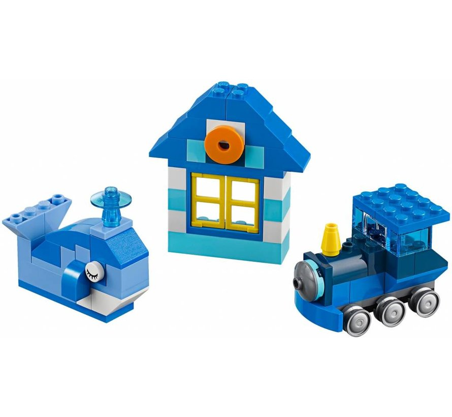 10706 Classic Blauwe creatieve doos