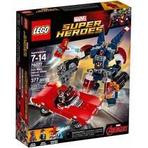 76077 Super Heroes Iron Man: Detroit staalstrijd