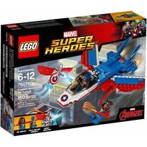 76076 Super Heroes Captain America jet achtervolging