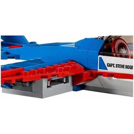 LEGO 76076 Super Heroes Captain America jet achtervolging