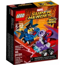 76073 Super Heroes Mighty Micros: Wolverine vs Magneto