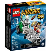 76070 Super Heroes Mighty Micros: Wonder Woman vs Doomsday