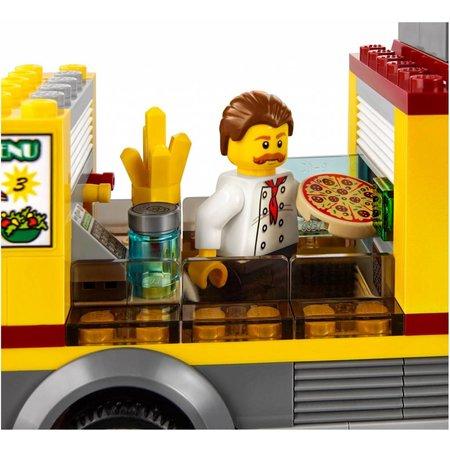 LEGO 60150 City Pizza bestelwagen