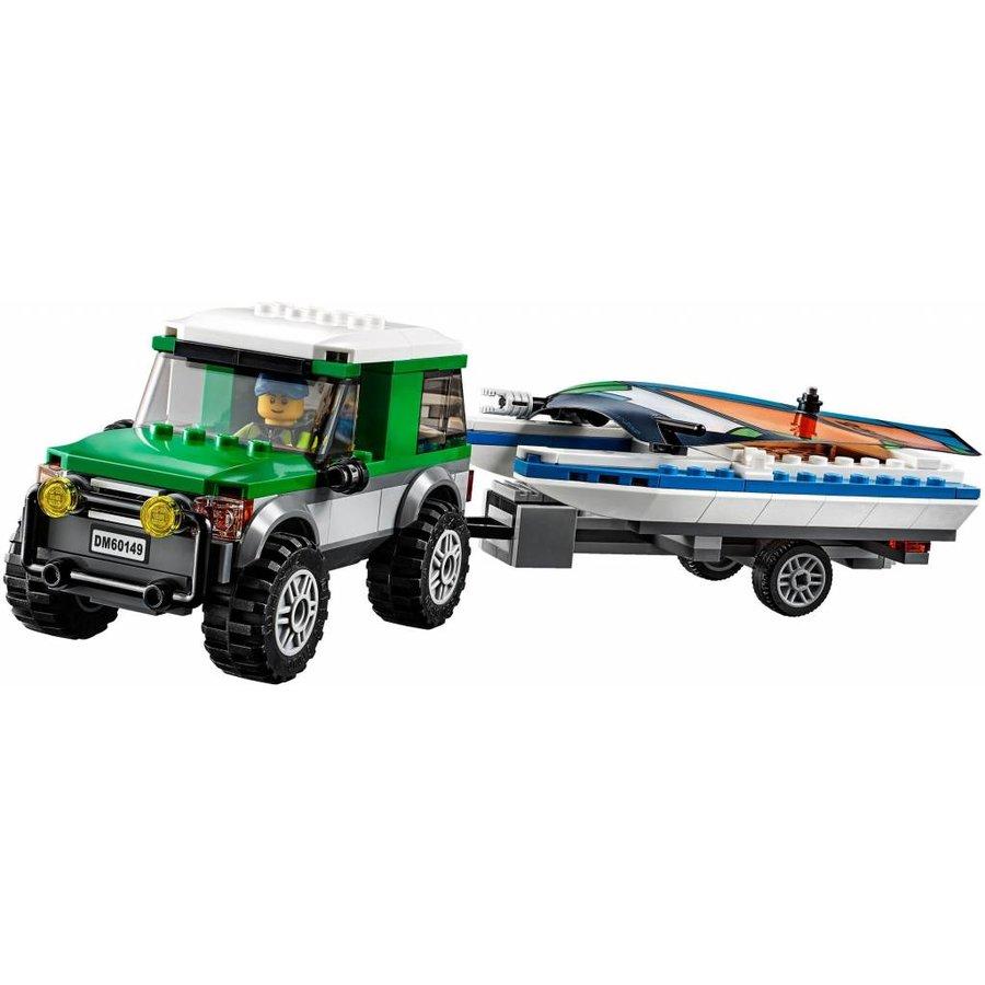 60149 City Pickup 4 x 4 met catamaran