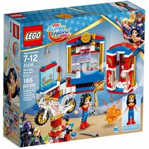 41235 Super Hero Girls Wonder Woman Nachtverblijf