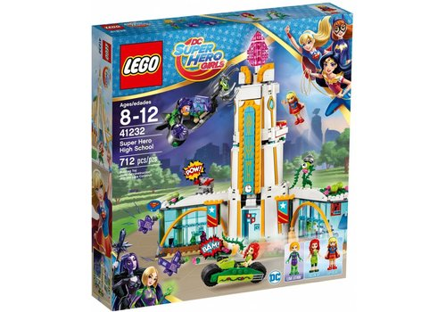 41232 Super Hero Girls Superheldenschool
