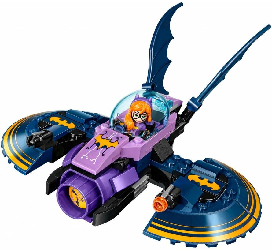41230 Super Hero Girls  Batgirl Batjet Achtervolging