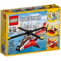31057 Creator Rode helikopter