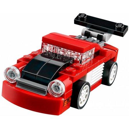 LEGO 31055 Creator Rode racewagen