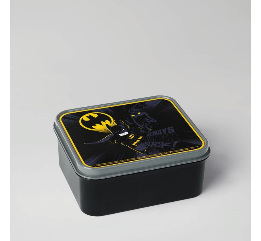 Lunchbox Lego Batman Movie: zwart