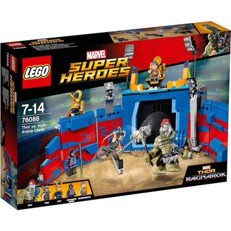 LEGO  76088   Marvel Super Heroes Thor vs. Hulk: arenagevecht