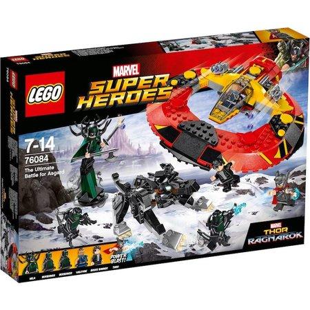 LEGO  Marvel Super Heroes 76084 De definitieve strijd om Asgaard