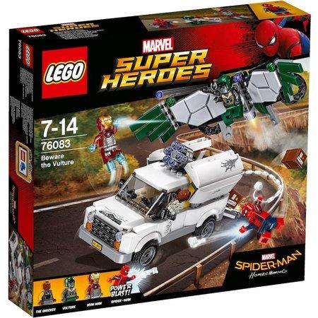 LEGO  Marvel Super Heroes 76083 Pas op voor Vulture