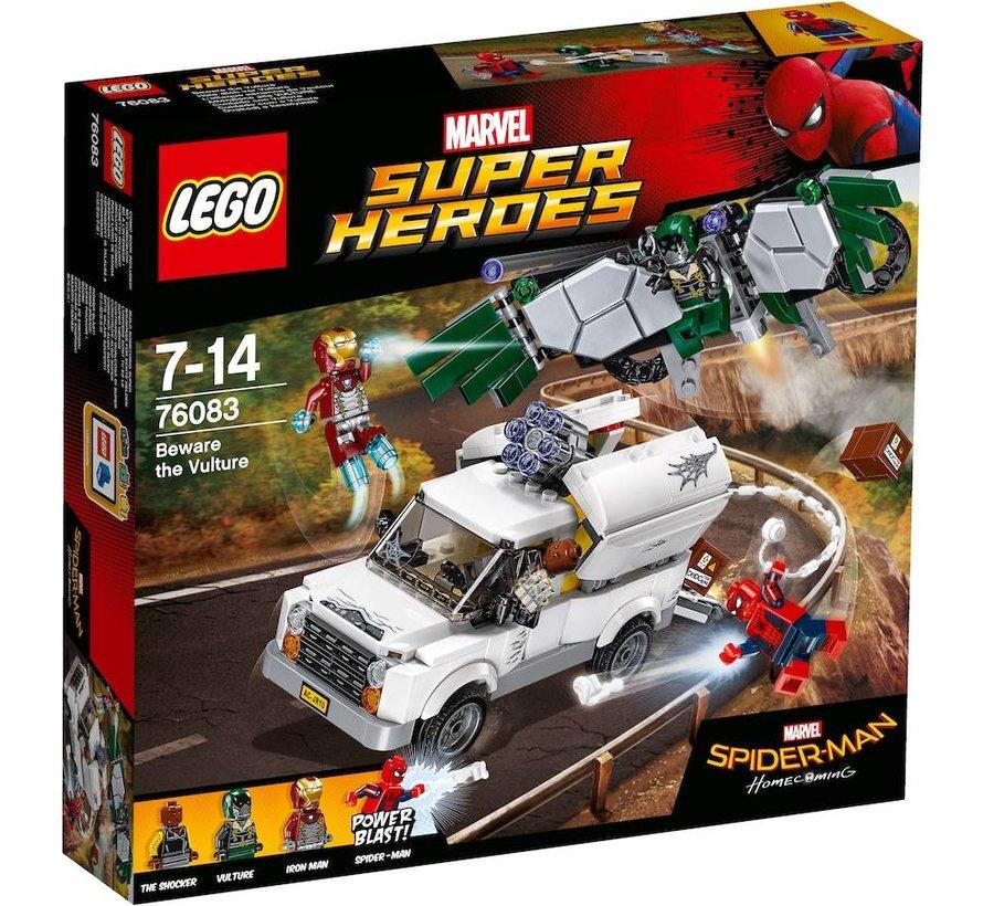 76083  Marvel Super Heroes  Pas op voor Vulture