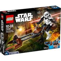 Star Wars Constraction 75532 Scout Trooper & Speeder Bike