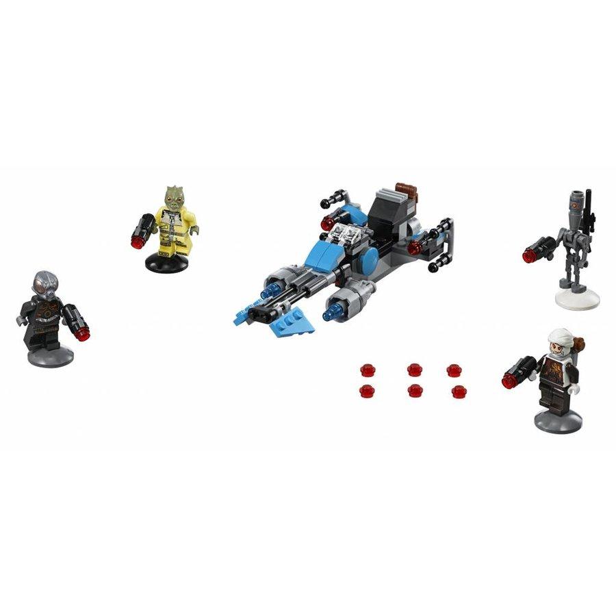 Star Wars 75167 Bounty Hunter Speeder Bike Battle Pack