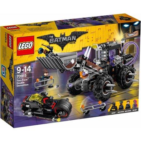LEGO  Batman movie 70915 Two-Face dubbele verwoesting