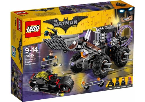 Batman movie 70915 Two-Face dubbele verwoesting