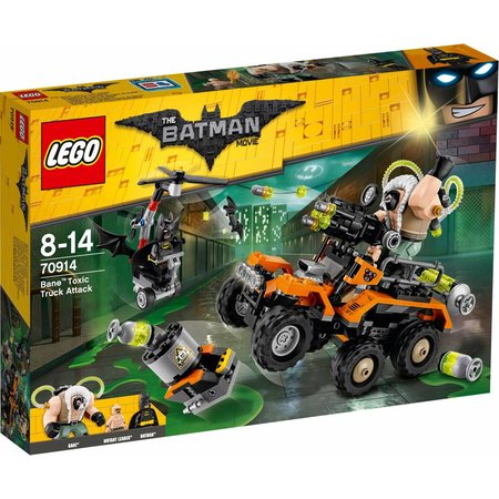 LEGO  Batman movie 70914 Bane giftruck-aanval
