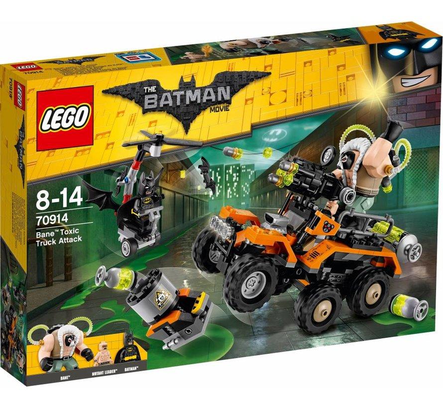 Batman movie 70914 Bane giftruck-aanval