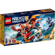 Nexo Knights 70361 Macy's Bot Drop Draak