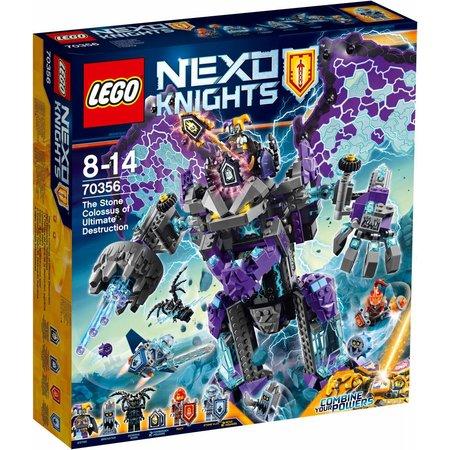 LEGO  Nexo Knights 70356 De stenen kolos der ultieme vernietiging
