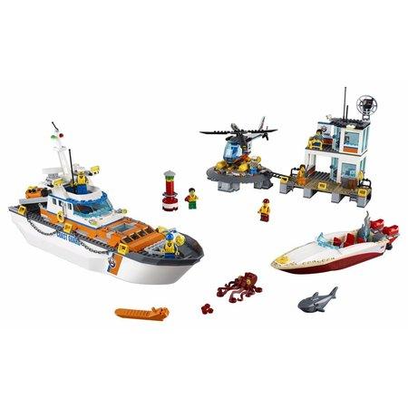 LEGO  City 60167 Kustwacht hoofdkwartier