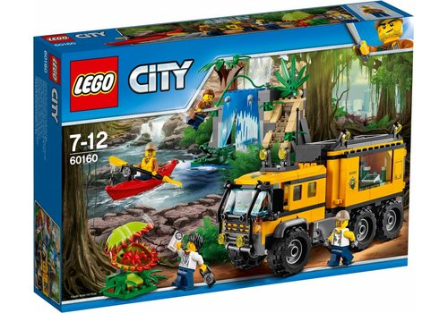 City 60160 Jungle mobiel laboratorium