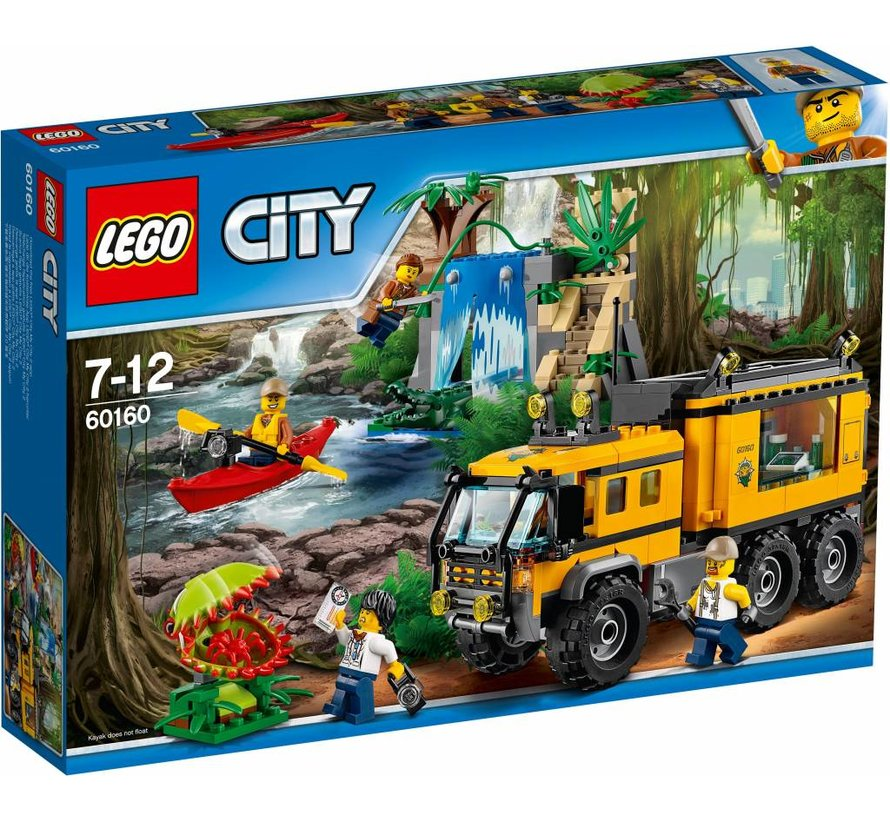 City 60160 Jungle mobiel laboratorium