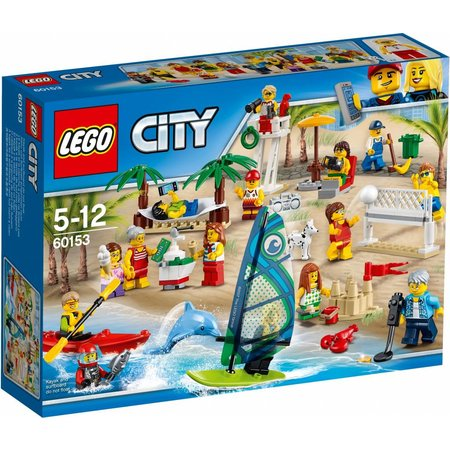 LEGO  City 60153 Personenset plezier aan het strand
