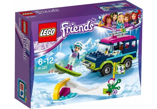 Friends 41321 Wintersport terreinwagen