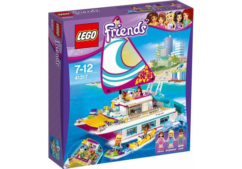 Friends 41317 Sunshine catamaran