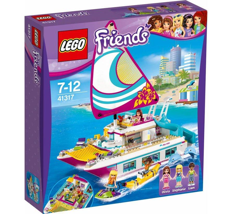 Friends 41317 Sunshine catamaran