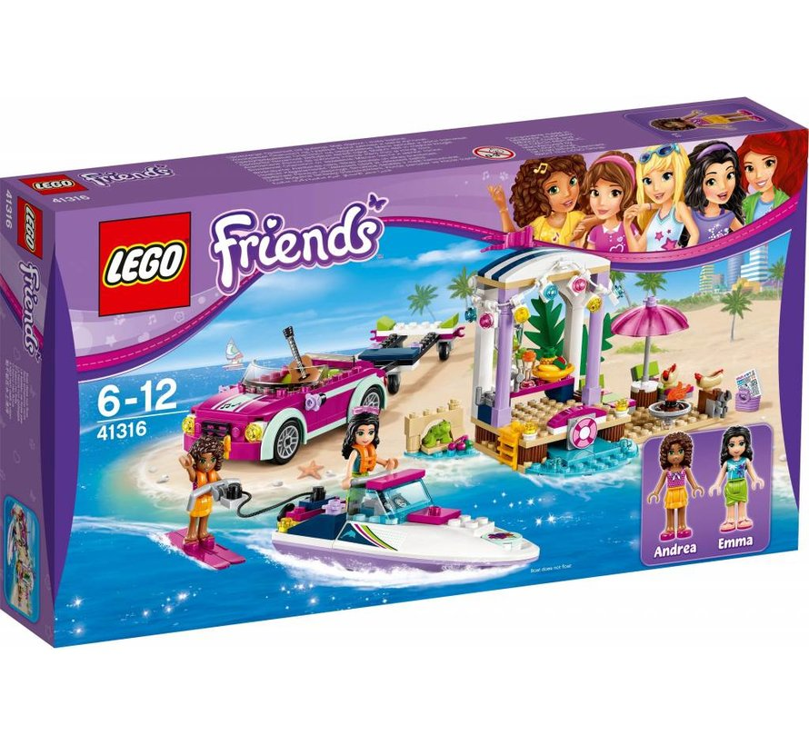 Friends 41316 Andrea's speedboottransport