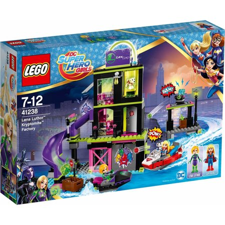 LEGO  Super Hero Girls 41238 Lena Luthorå» Kryptomiteå»-fabriek