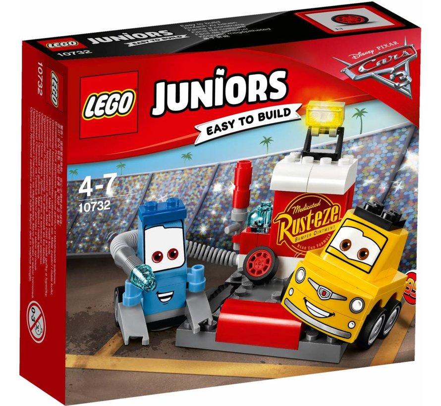 Juniors 10732 Guido en Luigi's pitstop