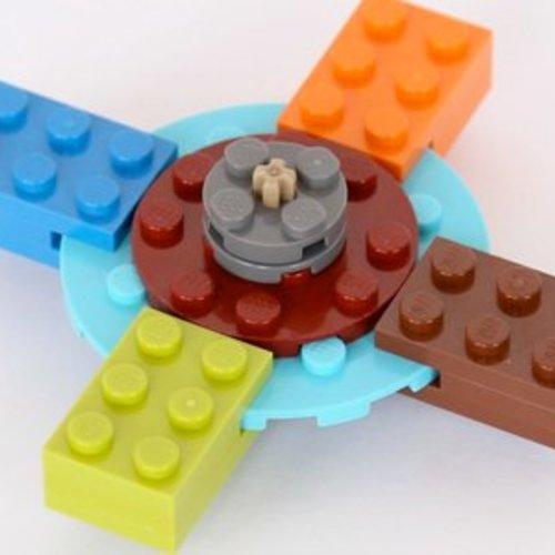 Fidget Hand Spinner LEGO
