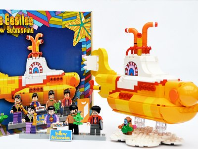 Yellow Submarine LEGO Ideas
