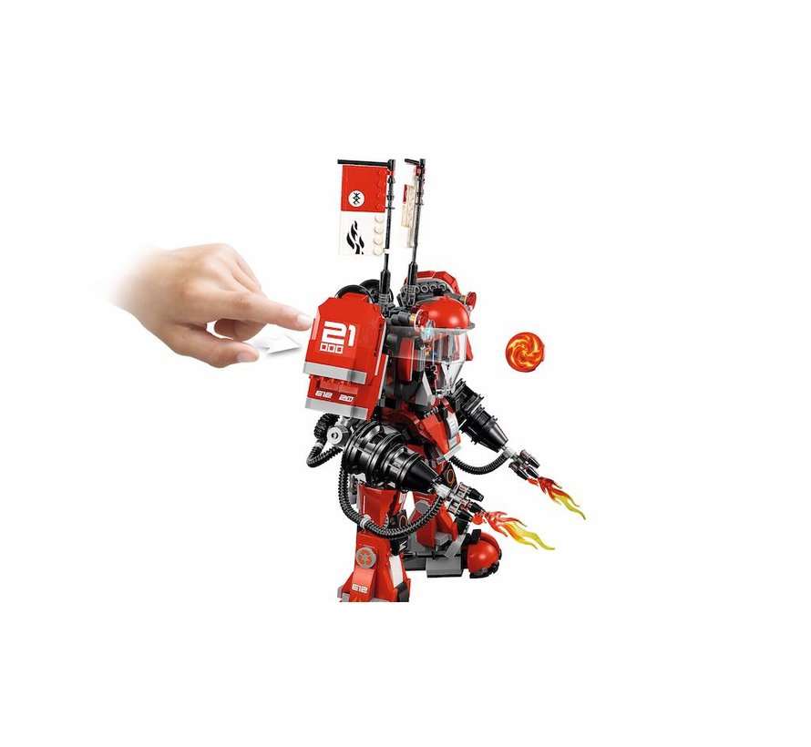 70615 Ninjago Movie Vuurmecha