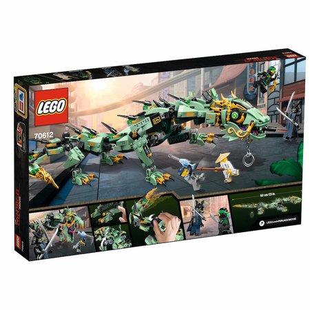 LEGO 70612 Ninjago Movie Groene ninja mecha draak