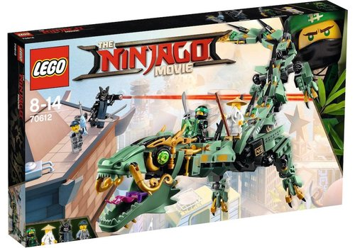 70612 Ninjago Movie Groene ninja mecha draak