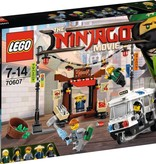 LEGO 70607 Ninjago Movie NINJAGO achtervolging door de stad