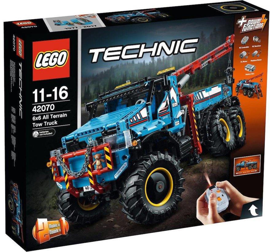42070 Technic 6x6 allterrain-sleepwagen