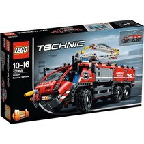 42068 Technic Vliegveld-reddingsvoertuig