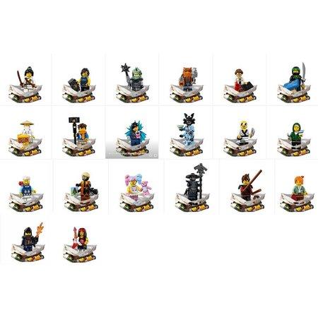 LEGO 71019 Ninjago Movie minifiguren, complete serie
