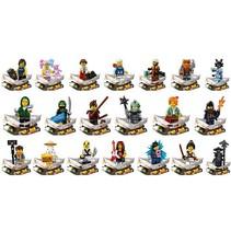 71019 Ninjago minifiguren complete serie