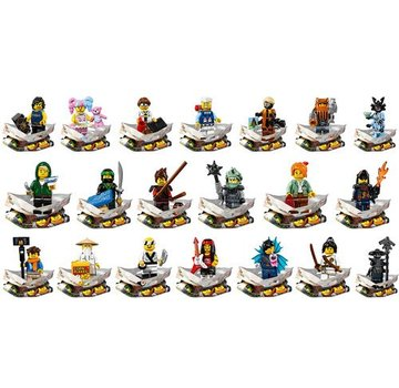LEGO 71019 Ninjago Movie  minifiguren, complete serie