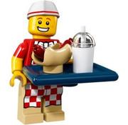 LEGO 71018-06 Hot Dog Man